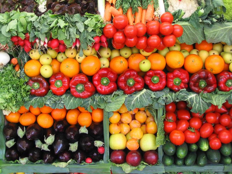 Овощи и фрукты по сезонам в Болгарии